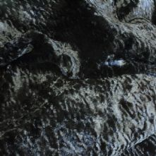 Black Curly Pile Faux Astrakhan Fur Fabric x 0.5m